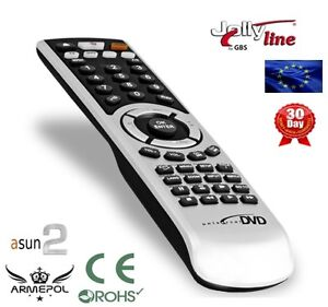 Universal-Remote-Control-to-DVD-MEDION-MD4358-easy-to-use-TV