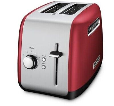 KitchenAid Refurbished 2-Slice Toaster with Manual Lift Lever | Empire Red