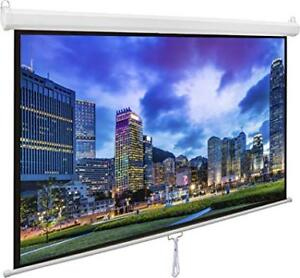 80 inch projector screen brand new with screws