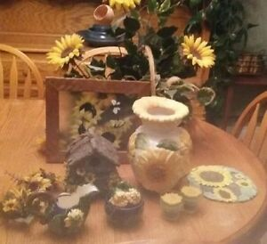 Sunflower lovers take note! Large collection of items for sale