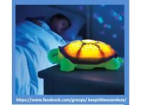 Turtle star projector/night light