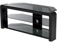 Serrano glass tv stand
