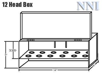 12 Fire Sprinkler Head Cabinet Box -12 Or 34 Npt Sprinklers Red Color- 1pc