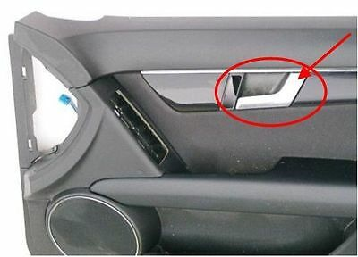 For Mercedes W204 C300 1pc Car Chrome Interior Door Handle Repair Kit Right Side
