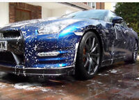 Car Detailers hand washed polished steamed waxed to perfection