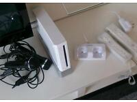 Boxed Nintendo Wii with accessories and games OFFERS ACCEPTED
