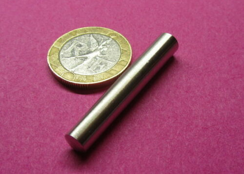 """Stainless Steel Taper Pin No 4 .250 Large End x .219 Small End x 1.50"""" L, 10 Pcs"""