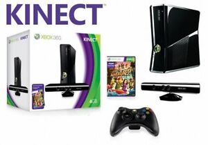 XBOX360 4+300 GB w/ 13 games, Kinect, HDMI, wireless controller