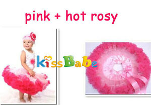 E043 Girl Baby Kids Skirt Party Dance Dress 1 Pcs Pettiskirt Tutu Costume1-8Year
