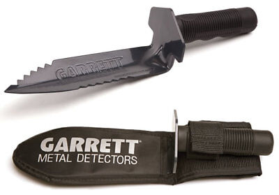 GARRETT METAL DETECTORS EDGE DIGGER DIGGING TOOL WITH BELT SHEATH, NEW 1616200