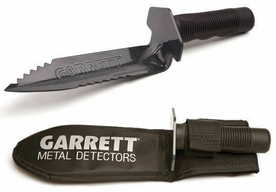 Garrett Edge Digger with Durable Double Sided Serrated Blade & Sheath 1626200