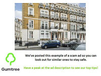 2 bed flat to rent Grenville Place, London SW7 4RT - Read the description before replying to the ad!