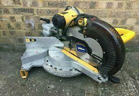 DW718- lx 110v chop saw, double bevel