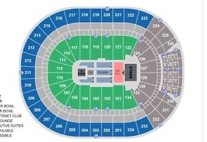 OILERS Lower Bowl Sec.113, Row 14, Seats 5+6 Strathcona County Edmonton Area image 2