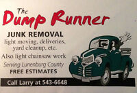 JUNK REMOVAL, GARAGE & BASEMENT CLEANUP, BRUSH & LIMB REMOVAL