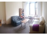 Very spacious 2 bed (first floor) flat near Glasgow University and Botanic Gardens