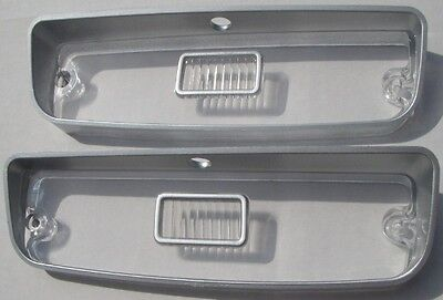 Mopar 71 72 73 74 Charger Park Light Lens PAIR NEW