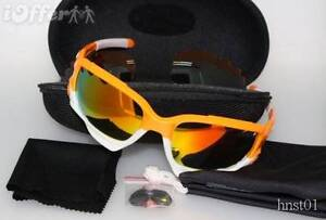 Oakley Sunglasses Jawbone Atomic Orange Cycling Shades + extras Kingswood Penrith Area Preview