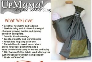 Upmama sling carrier (made in Canada)