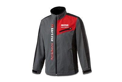 NISSAN NISMO COMFIT jacket gray New free shipping 100% polyester from JAPAN