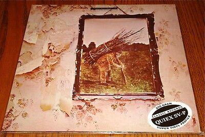 LED ZEPPELIN IV LP IN ORIGINAL BAG WITH STICKER 200 GRAM LP STILL SEALED!