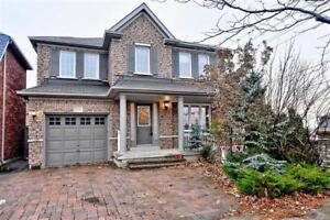 BRIGHT & SPACIOUS DETACHED HOUSE IN MARKHAM FOR RENT $2100