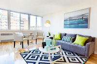 1, 2 and 3 BDRM apts on Ch Kingsley - Maintenance-free living!