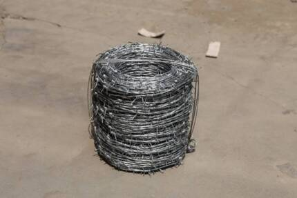 Hot dipped Galvanazed Barbed wire on Sale $16 for a Roll