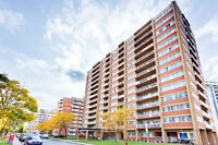 Indoor parking and balcony! 1, 2 and 3 BDRMs in Cote Saint-Luc!