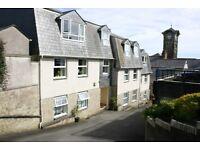 1 Bedroom ground floor flat in quiet purpose built complex, central Liskeard, Cornwall