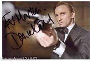 James Bond Autogramm