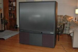 Panasonic older type tv projected tv free