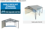 Gable pergola / patio /carport Bellevue Swan Area Preview