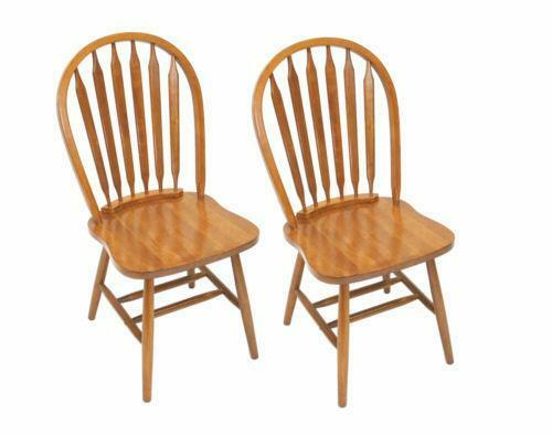 Oak dining room chairs ebay for Oak dining chairs