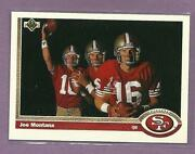 1991 Upper Deck Joe Montana
