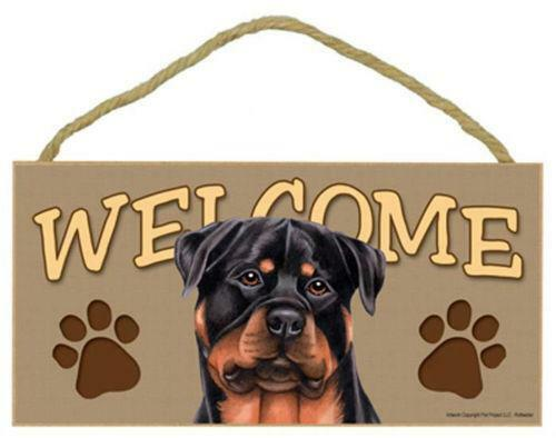 Rottweiler Sign Ebay