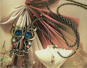 OWL Pendant Chain Necklace