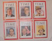 Time Magazine Vintage Lot