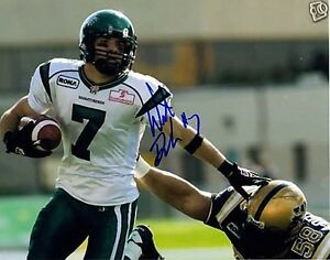 SASKATCHEWAN ROUGHRIDERS AUTOGRAPHED CFL FOOTBALL FAN PACK Edmonton Edmonton Area image 7