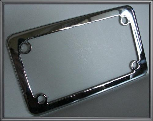 motorcycle license plate frame ebay