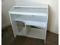 White Ikea Desk (Goliat)