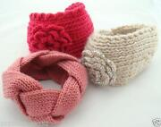 Crocheted Headband Ear Warmers
