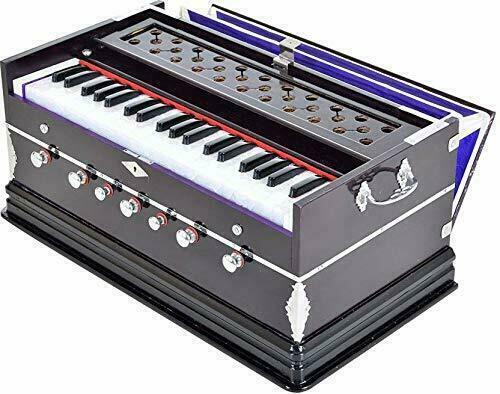 High Class Sound Quality 7 Stopper Two Fold Bellow 39 Key Harmonium For Bhajan