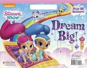 NEW Dream Big! (Shimmer and Shine) (Big Coloring Book) by Golden Books