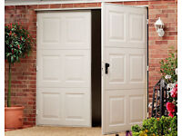 Cheap Side Hinged Garage Doors - Cardale - Delivery Throughout The UK - Garage Door Sale - 40% OFF