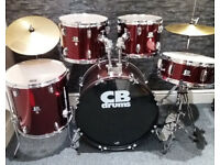 CB 5pc Drum Kit. Excellent Condition.
