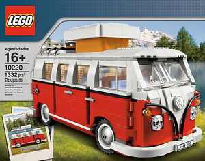 LEGO Volkswagen T1 Camper Van - Hard to Find - New - Set 10220