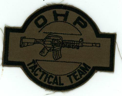 OKLAHOMA OK HIGHWAY PATROL TACTICAL TEAM SUBDUED SWAT SHERIFF POLICE