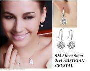 925 Silver CZ Earrings