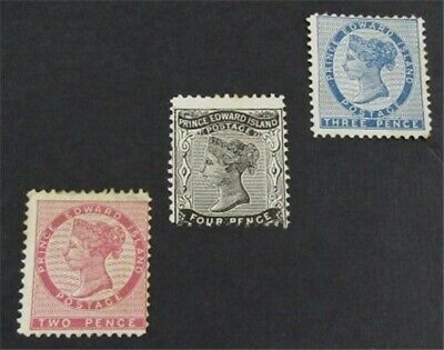 nystamps Canada Prince Edward Island Stamp # 5//9 Mint $35   L23y2934